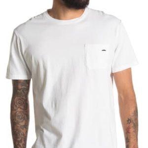 Richer Poorer Movember men's pocket t shirt M